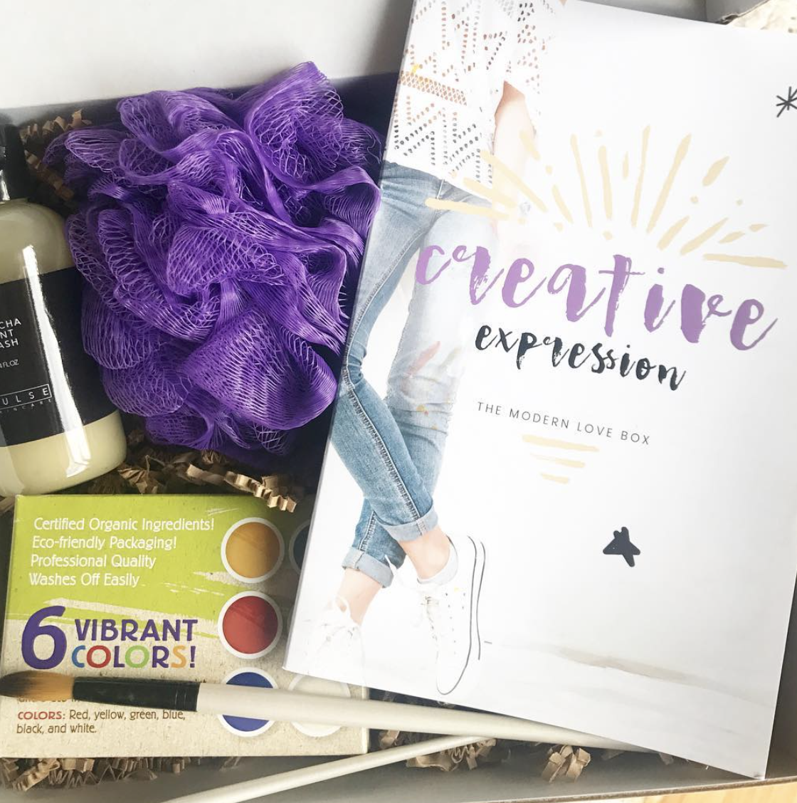 Creative Expression Box by The Modern Love Box