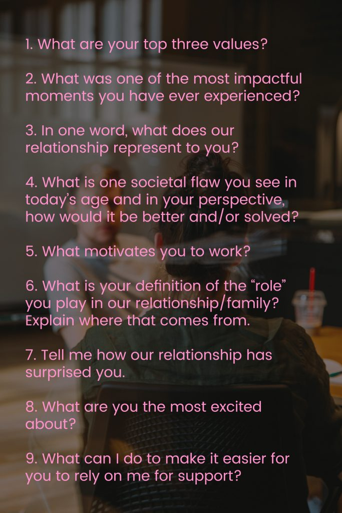 Must Ask Questions For Your Partner